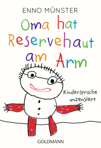 Oma hat Reservehaut am Arm Buch-Cover