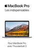 Apple Inc. - Les indispensables du MacBook Pro Grafik