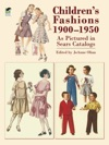 Childrens Fashions 1900-1950 As Pictured In Sears Catalogs