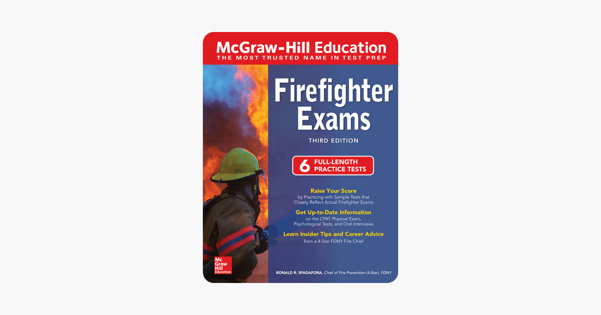 ‎McGraw-Hill Education Firefighter Exams, Third Edition