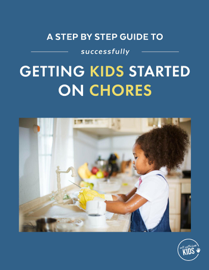 A Step-by-Step Guide to Successfully Getting Kids Started on Chores book
