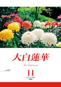 大白蓮華 2018年11月号 Book Cover