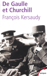 De Gaulle et Churchill La couverture du livre martien
