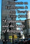 Comments On Egil Asprem And Ann Tavess Essay 2018 Explanation And The Study Of Religion
