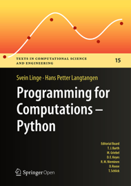 Programming for Computations - Python book