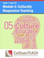 Module 5: Culturally Responsive Teaching