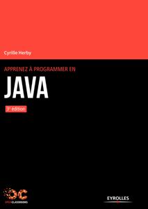 Apprenez à programmer en Java La couverture du livre martien