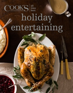 All Time Best Holiday Entertaining by America's Test Kitchen Book Cover