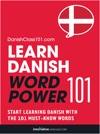 Learn Danish - Word Power 101