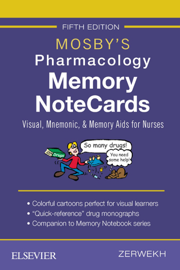 Mosby's Pharmacology Memory NoteCards - E-Book book