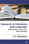 Research In Literature And Language Philosophy Areas And Methodology