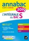 Annales Annabac 2019 Lintgrale Bac S