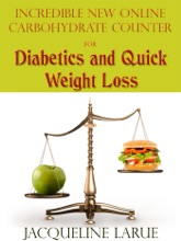Incredible New Online Carbohydrate Counter For Diabetics And Quick Weight Loss