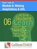 Module 6: Making Adaptations & UDL