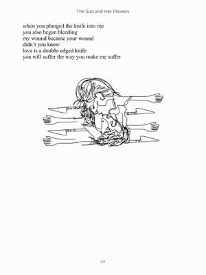 كتاب milk and honey مترجم pdf