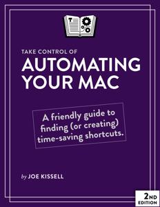 Take Control of Automating Your Mac, Second Edition La couverture du livre martien
