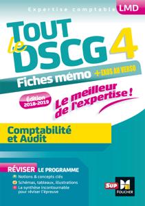 Tout le DSCG 4 - Comptabilité et Audit - Entrainement et révision La couverture du livre martien