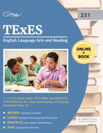 TExES English Language Arts and Reading 7-12 (231) Study Guide book