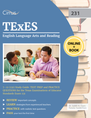 TExES English Language Arts and Reading 7-12 (231) Study Guide - TExES Exam Prep Team book