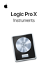 Apple Inc. - Instruments de Logic Pro X artwork