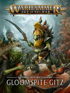Battletome: Gloomspite Gitz La couverture du livre martien