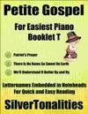 Petite Gospel For Easiest Piano Booklet T