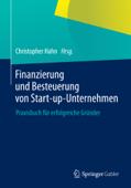 Finanzierung und Besteuerung von Start-up-Unternehmen