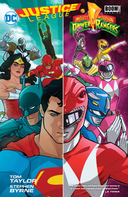 Justice League/Power Rangers - Tom Taylor & Stephen Byrne book