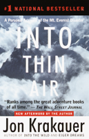 Into Thin Air book cover
