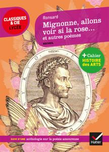 Mignonne allons voir si la rose et autres poèmes La couverture du livre martien