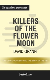 Killers of the Flower Moon: The Osage Murders and the Birth of the FBI by David Grann PDF Download