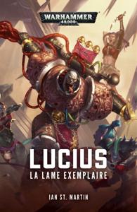Lucius: La Lame Exemplaire La couverture du livre martien