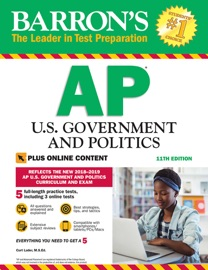 BARRONS AP U.S. GOVERNMENT AND POLITICS WITH ONLINE TESTS