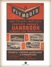 Plymouth And Chrysler-built Cars Complete Owners Handbook Of Repair And Maintenance