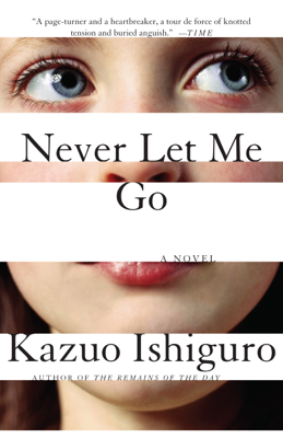 Never Let Me Go - Kazuo Ishiguro book