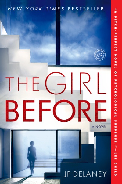 The Girl Before - J.P. Delaney book cover