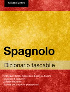 Dizionario Tascabile Spagnolo Copertina del libro
