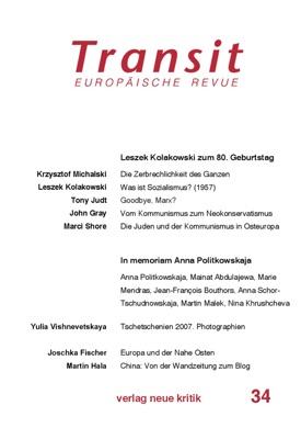 Transit 34. Europäische Revue pdf Download