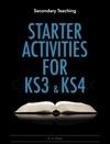 Starter Activities For KS3  KS4