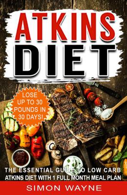 Atkins Diet - Simon Wayne book
