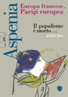 Aspenia N 77 - Europa Francese Parigi Europea