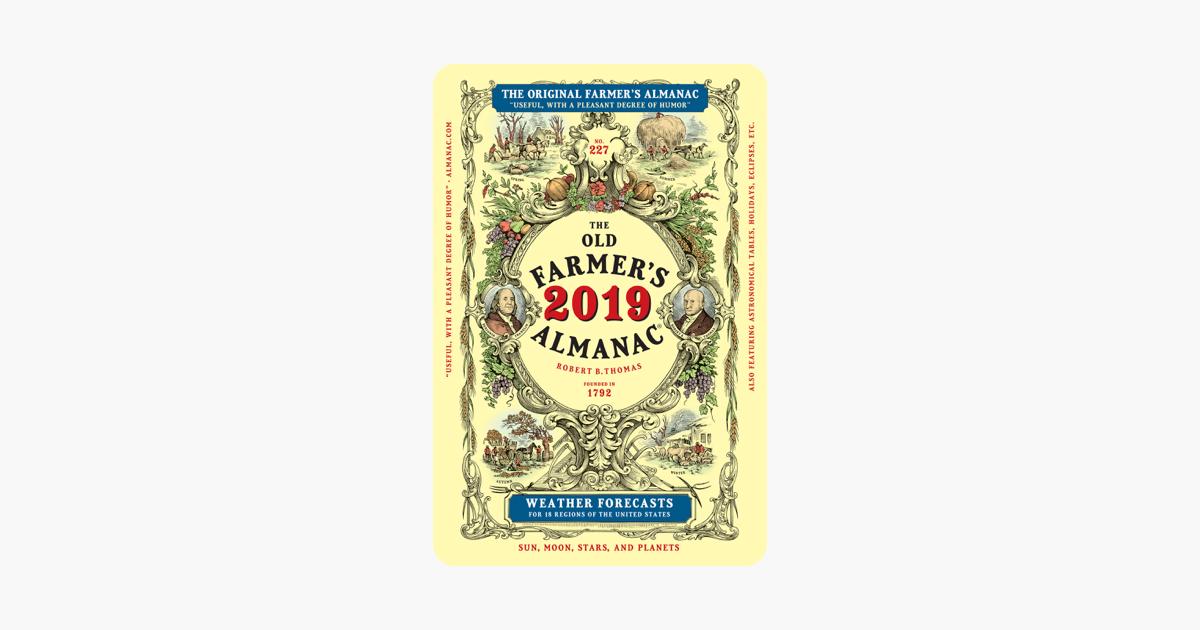 The Old Farmer's Almanac 2019 - Old Farmer's Almanac