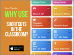 Why use Shortcuts in the classroom?