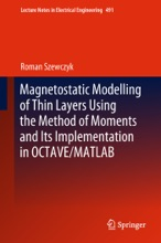 Magnetostatic Modelling of Thin Layers Using the Method of Moments And Its Implementation in OCTAVE/MATLAB