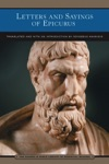 Letters And Sayings Of Epicurus Barnes  Noble Library Of Essential Reading