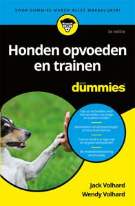 Honden opvoeden en trainen voor dummies Boekomslag