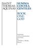 St. Thomas Aquinas & Anton C. Pegis F.R.S.C. - Summa Contra Gentiles artwork