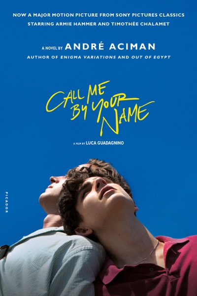 Call Me by Your Name - André Aciman book cover