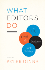 What Editors Do book