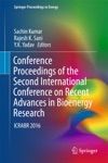 Conference Proceedings Of The Second International Conference On Recent Advances In Bioenergy Research